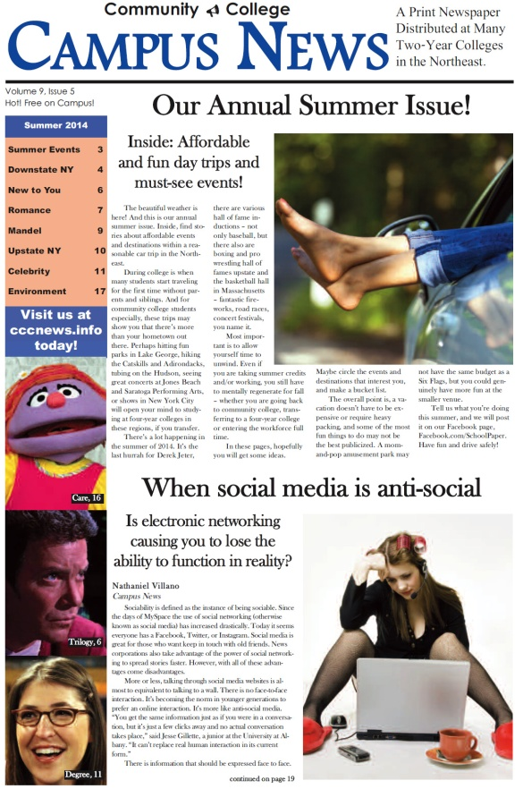 Cover of Campus News