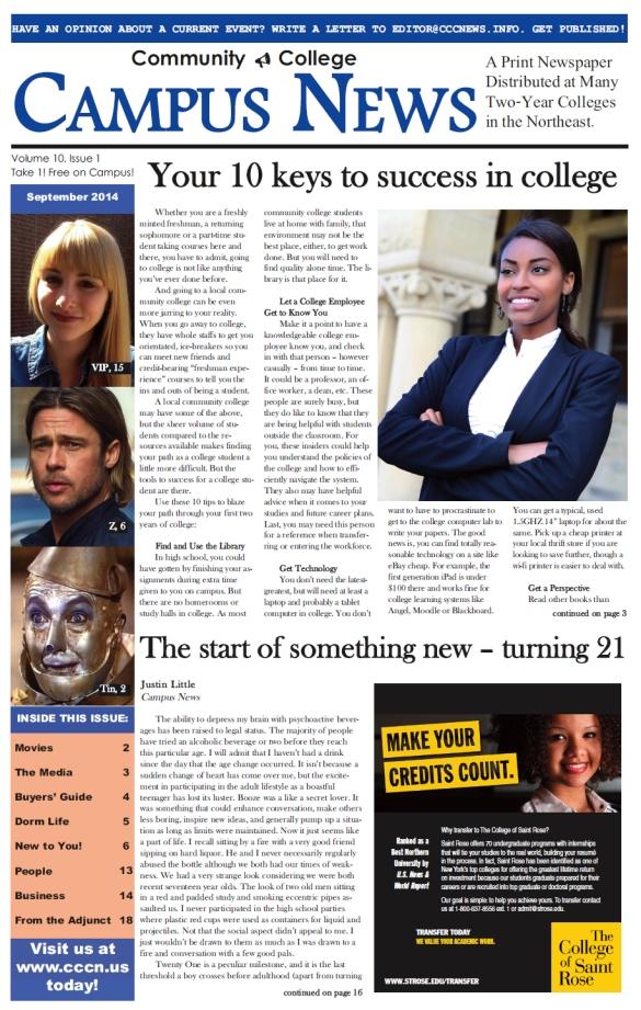 Campus News 10-1