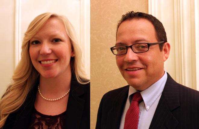 Rachel Lopez and David Ortiz. Photos by Author.
